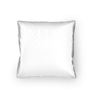 ♥ REIKI - Retro Heart Mandala - white
