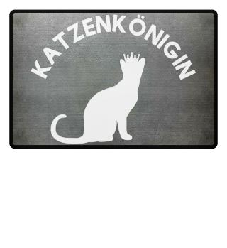 Katzenkönigin | Jura Fußmatte