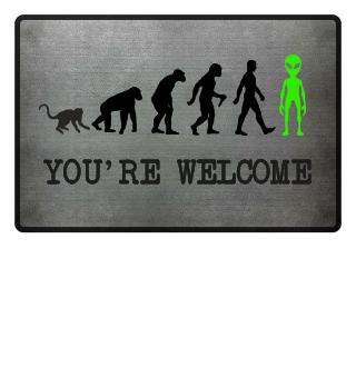 Evolution Of Humans - Green Alien Ia