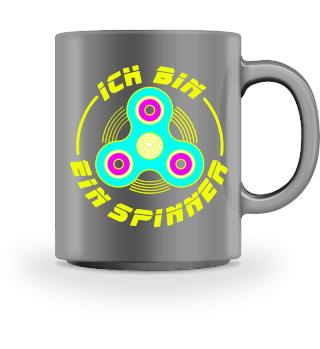 Ich Bin Ein Neon Fidget Spinner