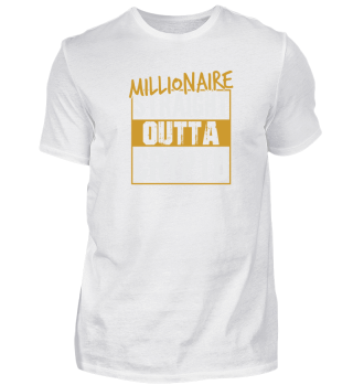 Cryptocurrency Millionair T-Shirt