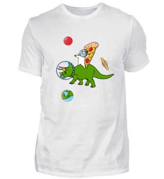 Pizza Katze Dinosaurier Geschenk All
