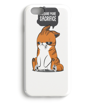 Katze Kater Sprechblase Comic Geschenk