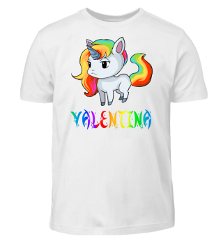 Valentina Unicorn Kids T-Shirt