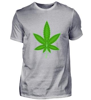 Hanfblatt Cannabis Marihuana Kiffen Weed