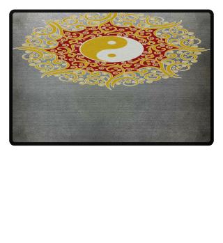 ♥ YIN YANG - Vintage Mandala I