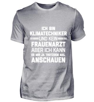 Klimatechniker lustiger Spruch Geschenk