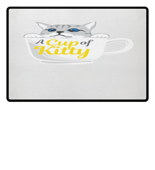 Cat quote cats meow loving cup gift