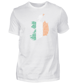 Irland-Shirt | WordCloud