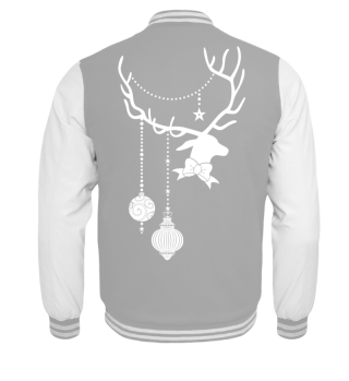 Christmas Deer with Ornaments III