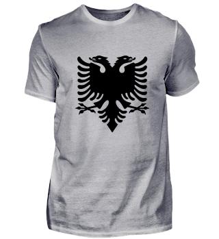 Zweiköpfige Adler Albanien