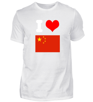 I love China Design Motiv Geschenkidee