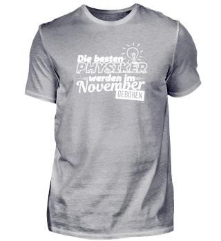Physiker - Geburtstag November - Physik