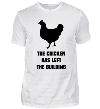 Chicken left the buidling