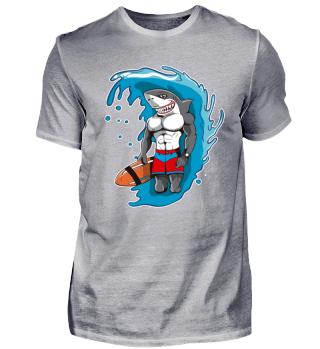 Lifeguard Hai Shark Bademeister Geschenk