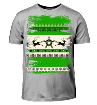 ★ Christmas Ornaments Grunge Pattern II