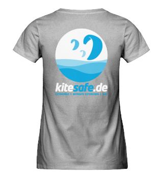kitesafe.de Damen Premiumshirt Logo