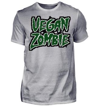 Vegan Zombie - Veganer - Veggie - Monster Ghouls - Geschenk