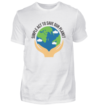 Save the planet. Stop climate change