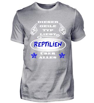 Geiler Typ liebt Reptilien
