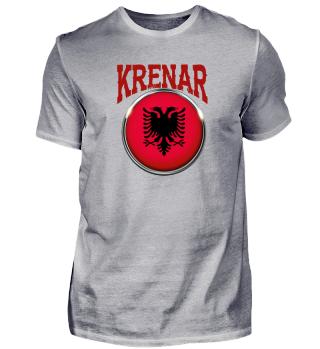 Albanien Albaner Krenar Stolz