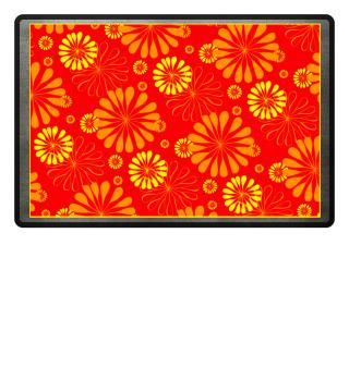 Abstraktes Blumen Muster II