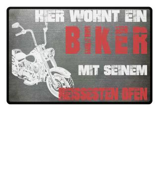 Fußmatte | BIKER & SEIN HEIßESTER OFEN