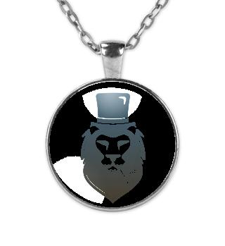 Kette/Necklace- Smoking Lion