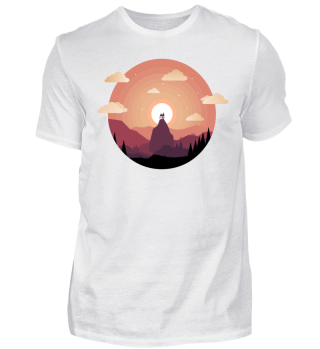 House in Sunset T-shirt