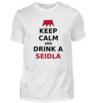 Franken Keep Calm Seidla Bier