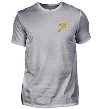 golden flower t-shirt Geschenkidee