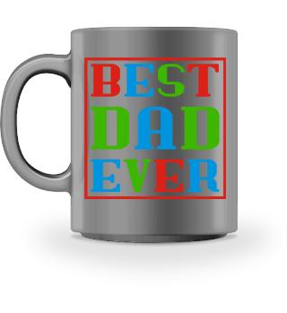 BEST DAD EVER frame TASSE