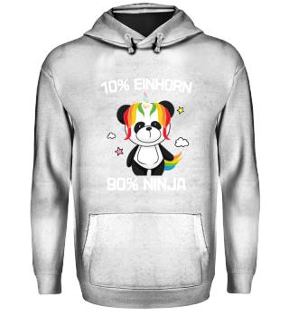 Einhorn · 10% Einhorn 90% Ninja