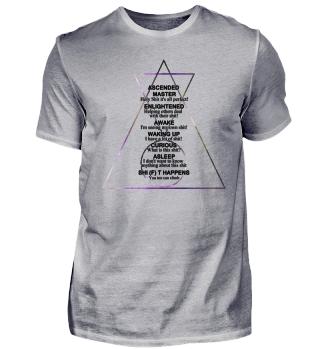 Hipster Dreiecke des Erwachens