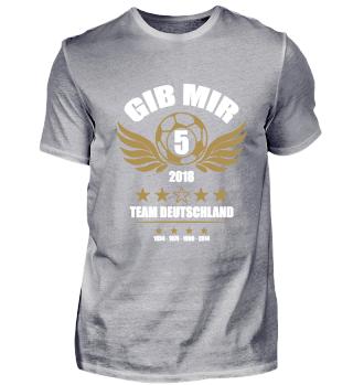 FUSSBALL SHIRT · GIB MIR FÜNF #3.3