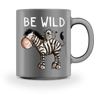 Be Wild Zebrareiter - Katze - Zebra -Fun