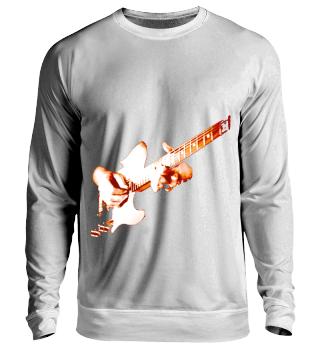 Gitarre immer umgeschnallt