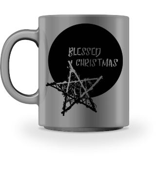 Blessed Christmas - Bamboo Star black 1