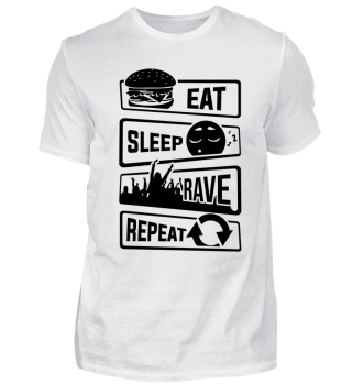 Eat Sleep Rave Repeat - Electro House