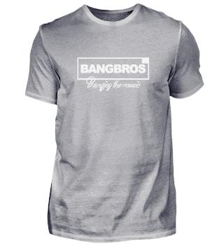 BANGJOY THE MUSIC - weißes Logo