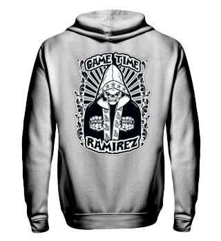 Herren Zip Hoodie Sweatshirt Game Time Ramirez