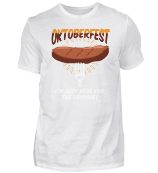Funny Oktoberfest Sausage