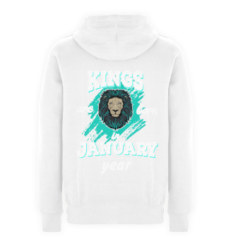 Kings are born in January with year