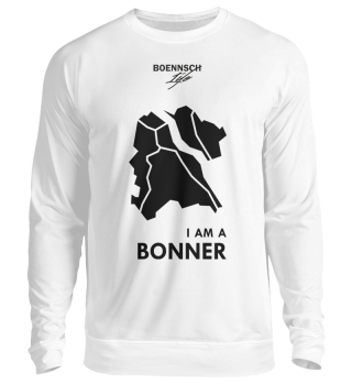 unisex sweatshirt i am a bonner