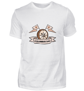 Christopher Columbus Day Compass Water G