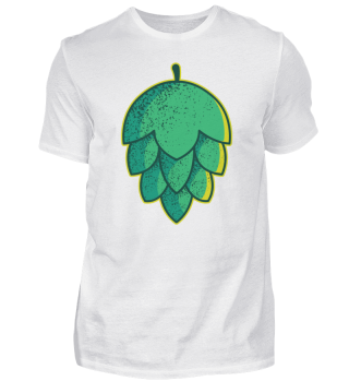 Hop flower beer drinking party shirt