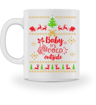 UGLY CHRISTMAS DESIGN - STRICKMUSTER #7.2