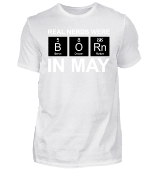 Periodic Elements - BORN may white