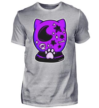 Katze Gothic Glaskugel Voodoo Hexe Tarot