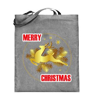 ☛ MERRY CHRISTMAS · BADGE #1A